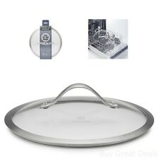 Fry Pan Lid Cookware Clear Glass Cover 10 Inch Replacement Frying Skillet Lids