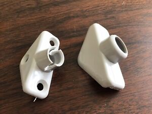 Classic Wingard Grey Interior Mirror Mounting Brackets - Minis Etc