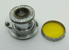 Russian Elmar lens INDUSTAR 10 3,5/50 camera FED Zorki 2 3 4 5 6  Leica