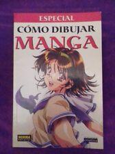 Especial como dibujar manga castellano español - NORMA Editorial