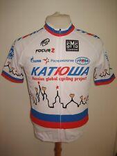 Katusha KOLOBNEV champion of Russia jersey shirt cycling maillot santini size L