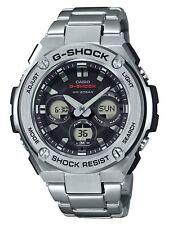Casio G-Steel Men's GSTS310D-1A Tough Solar Ana-Digi Silver-Tone 49mm Watch