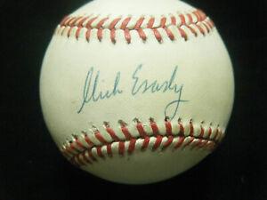 Vintage Nick Esasky Cincinnati Reds autographed AL Brown baseball