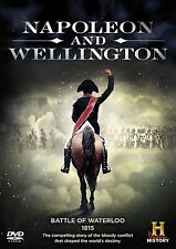 Napoleon and Wellington - Battle of Waterloo 1815 (New DVD) Bonaparte Wellesley
