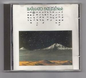 Franco Battiato - l'arca di Noè - cd EMI 1982 - cd 7467982