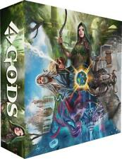 4 GODS - A Tile Laying Board Game w/Miniatures Asmodee NEW/FREE SHIP/INT'L SHIP!