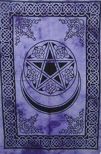 Poster Bohemian Home Decor Moon Star Wall Hanging Hippie Tapestry Cotton Art