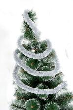Christmas Tree Decoration Metallic Foil Colorful Shining 2.3M Tinsel Garland