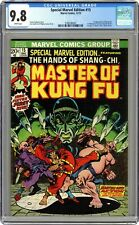 Special Marvel Edition #15 CGC 9.8 1973 3788186001 1st app. Shang Chi