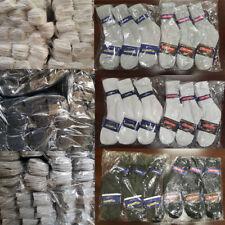 Wholesale Bulk Lots Men Women Crew Socks Sports Casual Cotton Size 9-11-10-13