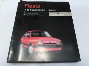 Halfords Essential Guide - Ford Fiesta MK2 A to F Registration Petrol Models