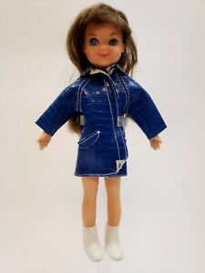 Mattel Blonde Tutti Doll Wearing # 3601 Puddle Jumpers White Boots