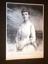 Sua Altezza Reale Principessa Marie Amélie di Francia Fidanzata Duca de Bragance