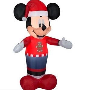 5 ft MICKEY MOUSE CHRISTMAS INFLATABLE NEW
