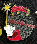 Disney Pin 9 Spaceship Earth - 2000 Sorcerer Mickey's Arm With Wand