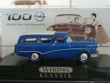 Wiking Opel Caravan 1957, blau, PC - 0799 08 - 1:87