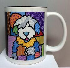 "Old English Sheepdog ""Lacy"" Mug by Sandy O ! 2008 (New)"