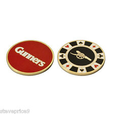 ARSENAL FC CASINO GOLF BALL MARKER