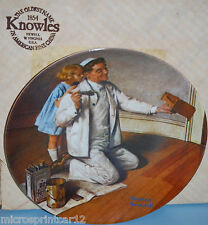 """""""The Painter"""" 1983 """"Heritage Series"""" Collectors Plate by Norman Rockwell"""