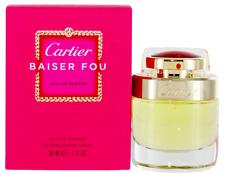 Baiser Fou by Cartier For Women EDP Spray Perfume 1oz New