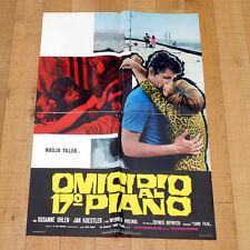 OMICIDIO AL 17 PIANO manifesto poster Engel, die ihre Flügel verbrennen Tiller