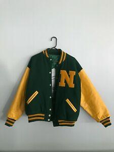 Northern Michigan University Football Letterman Jacket Size L