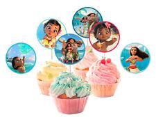 Topper per cupcake OCEANIA per feste di compleanno