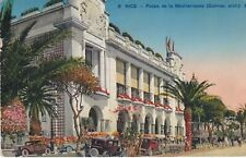 carte France , nice , palais de la mediterranee