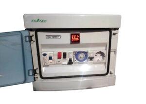 Cuadro eléctrico digital de piscina + enchufe + Regalo libro de mantenimiento