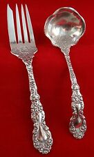 2 pc. 1894 Gorham Imperial Chrysanthemum Sterling Serving Set. 163.4 gr. - 8.25""
