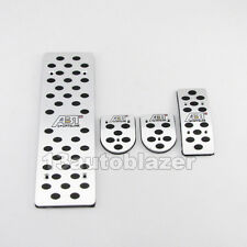 ABT MT Foot Rest Aluminum LHD Pedal Set For VW Jetta New Bora Golf 4 GTI Beetle