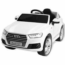 Vidaxl Voiture Électrique pour Enfants Audi Q7 Blanc 6 V Jouets