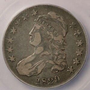 1829-P 1829 Capped Bust Half Dollar ICG VF20