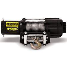 Champion Power Equipment 100129 ATV/ UTV 4,700 lb. Winch Kit