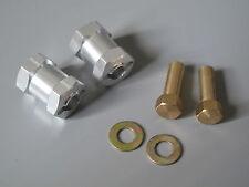 17mm Wheel Hub Extension Widener Set 1/10 Tamiya 12mm Hex F350 Hilux Tundra