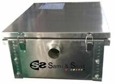 More details for commercial stainless steel grease traps different sizes