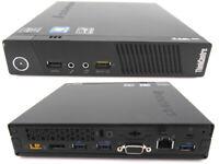 LENOVO M93p Tiny PC POS COMPUTER i5-4570T 2.90GHZ 8GB 128GB USB 3.0 WIN 10 PRO
