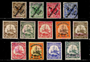 GERMAN EAST AFRICA: CLASSIC ERA STAMP COLLECTION MOSTLY UNUSED