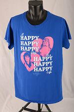 DUCK DYNASTY T Shirt 3X Blue Phil Kay Robertson Happy Happy Happy Wife/Life