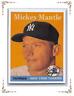 "1958  MICKEY MANTLE - Topps ""REPRINT"" Baseball Card # 150 - NEW YORK YANKEES"