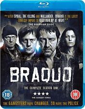 Braquo Complete Series 1 Blu Ray All Episode First Season Original UK Rel NEW R2