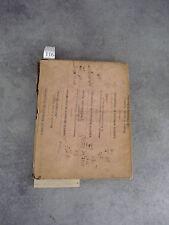 Manuscrit Cours réthorique Strasbourg Monoyer ophtalmologie optique médecine