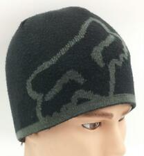 FOX RIDER CO. Fox Logo Motorcross Extreme Sports Reversable Skull Cap Beanie Hat