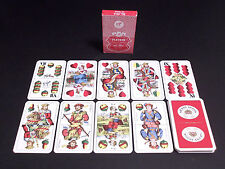 PLAYING CARDS UNGHERESI BEER ARANY ASZOK PIATNIK No. 1814 sz. tipus