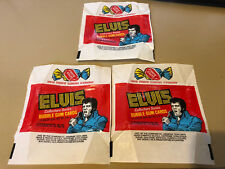 Elvis - 10x Wax Pack Card Wrappers - Donruss 1978 - NO TEARS !!!