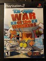 Tom and Jerry in War of the Whiskers (Sony PlayStation 2, 2002) CIB - Tested