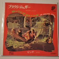 "ROLLING STONES - BROWN SUGAR - 1971 JAPAN 7"" SINGLE"