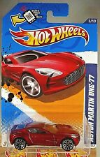2012 Hot Wheels #123 HW All Stars '12 3/10 ASTON MARTIN ONE-77 Red Variant w/J5s