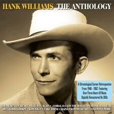 HANK WILLIAMS - THE ANTHOLOGY - 3 CDS - NEW!!