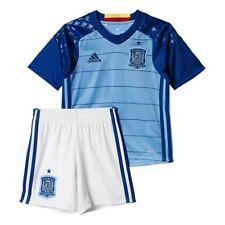 Maillots de football ensembles bleus